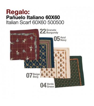 Regalo Pañuelo Italiano 60x60 500500
