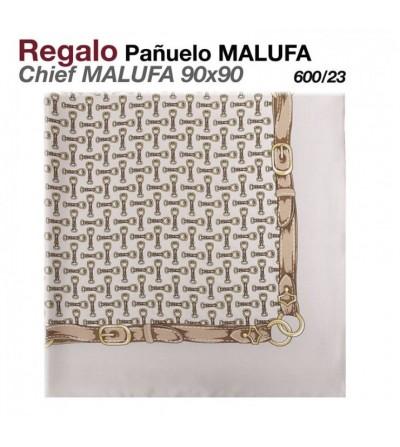 Regalo Pañuelo Malufa 90x90 Gris