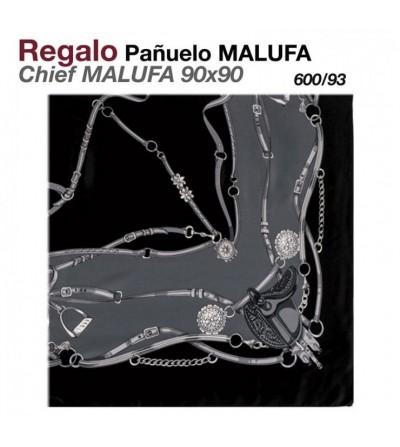 Regalo Pañuelo Malufa 90x90 Negro