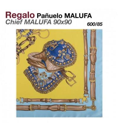 Regalo Pañuelo Malufa 90x90 Mostaza
