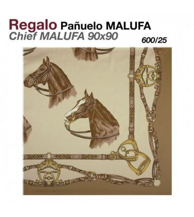 Regalo Pañuelo Malufa 90x90 Beige