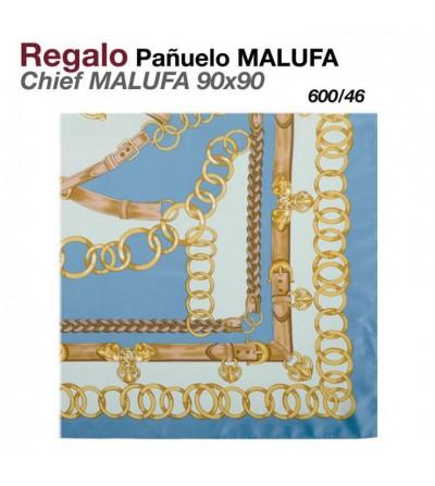 Regalo Pañuelo Malufa 90x90 Turquesa