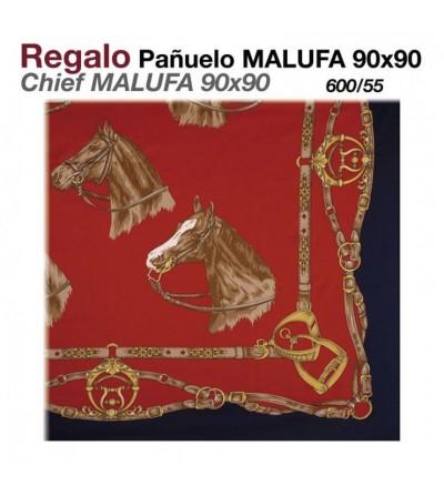 Regalo Pañuelo Malufa 90x90 Rojo