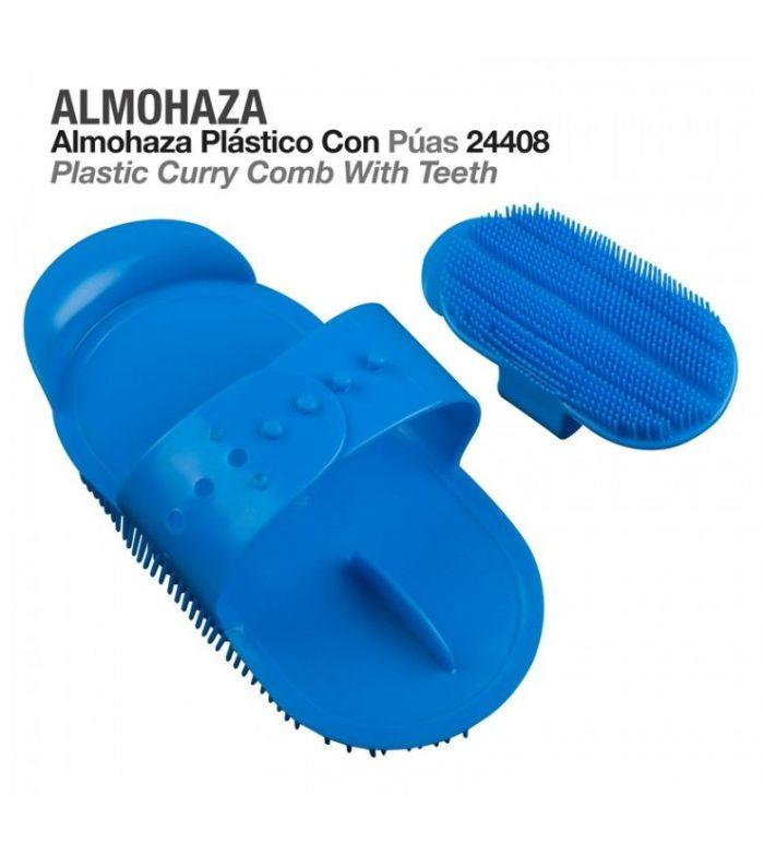 Almohaza Plastico con Puas