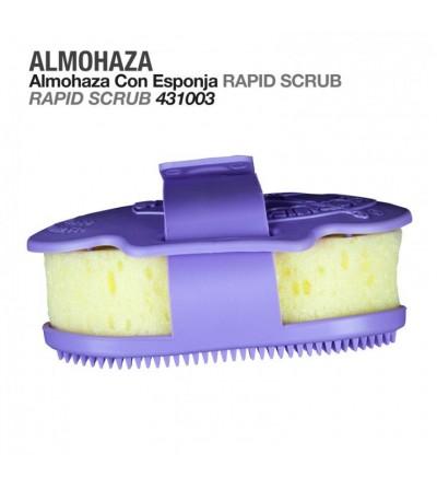 Almohaza con Esponja Rapid Scrub
