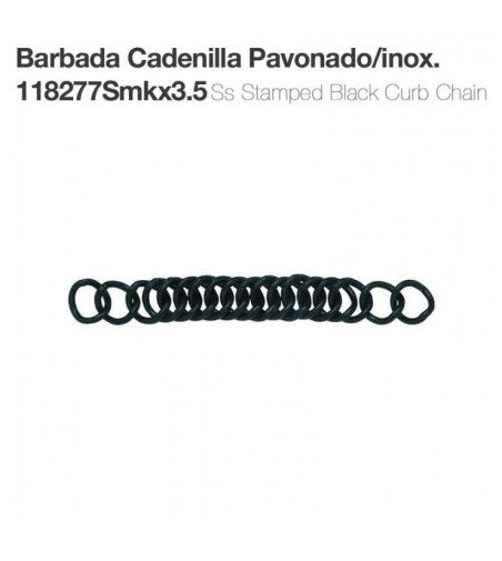 Barbada Cadenilla Pavonada/Inoxidable