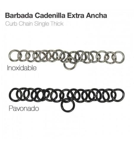 Barbada Cadenilla Extra-Ancha