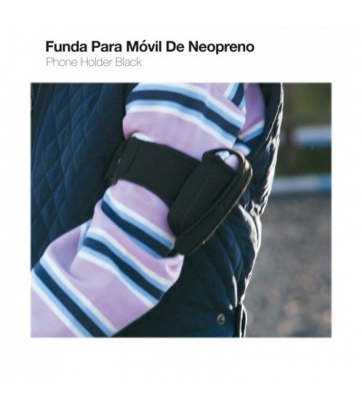 Funda para Movil de Neopreno 9157 Negro