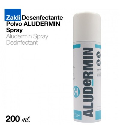 Zaldi Desinfectante Polvo Aludermin Spray 200 Ml