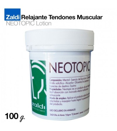 Zaldi Relajante Tendones Muscular Neotopic 100 Gr