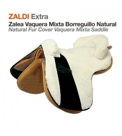 Zalea Zaldi Extra Vaquera-Mixta Borreguillo Natural