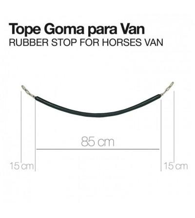 Tope Goma para Van de Caballos