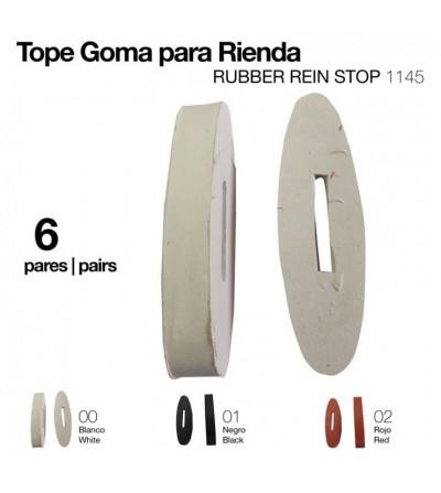 Tope de Goma para Rienda 1145 (6 Pares)