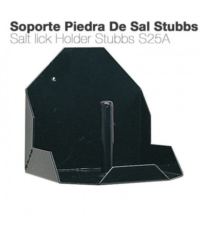Soporte Piedra de Sal Stubbs S25A