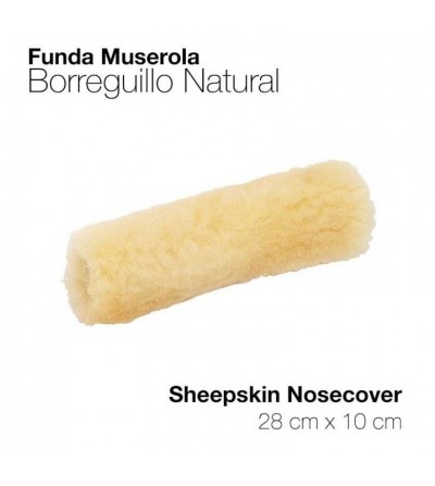 Funda para Muserola de Borreguillo Natural