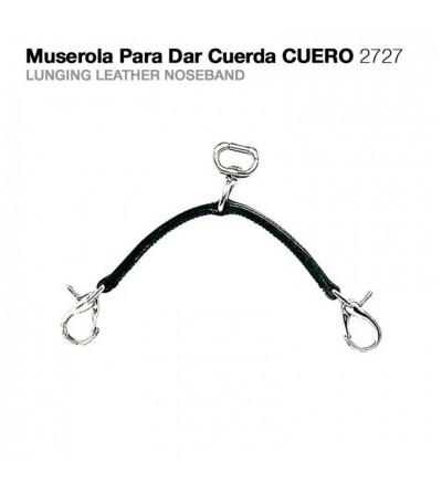 Muserola para Dar Cuerda Cuero 2727
