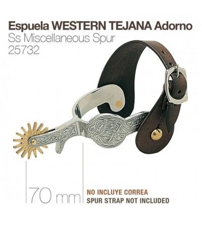 Espuela Western Tejana Adorno 25732