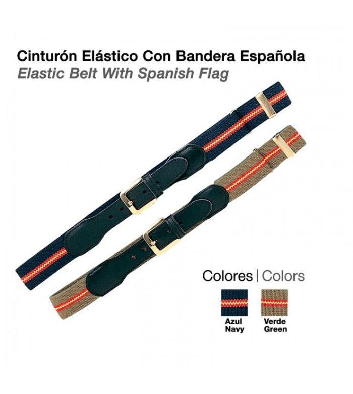 Cinturón Elástico Bandera Española