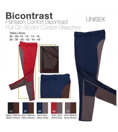 Pantalón Confort Bicontrast
