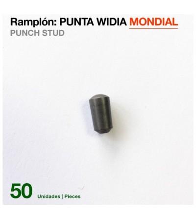 Ramplón Punta De Widia Mondial (50 Unidades)