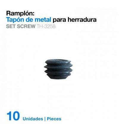 Ramplón Tapón Metal para Herradura (10Uds) Th-3258
