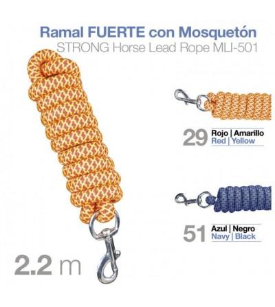 Ramal Fuerte con Mosquetón MLI-501 2.20 m