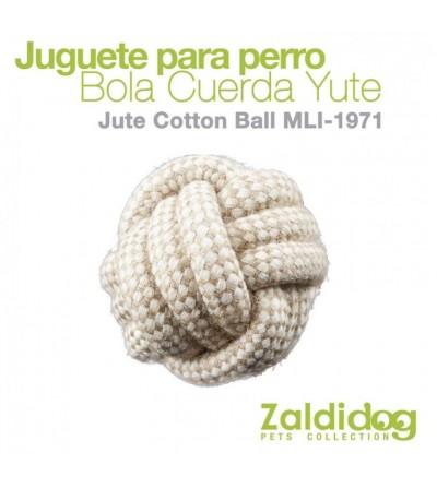 Perro Juguete Bola de Cuerda Jute MLI-1971