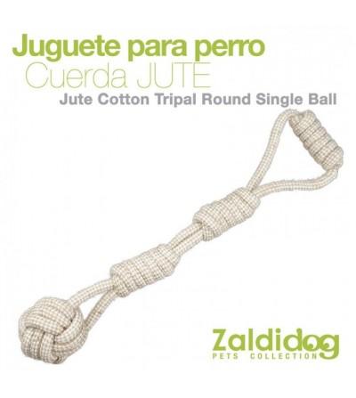Perro Juguete Cuerda Jute MLI-1969