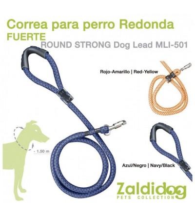 Perro Correa Redonda Fuerte 1.5 m